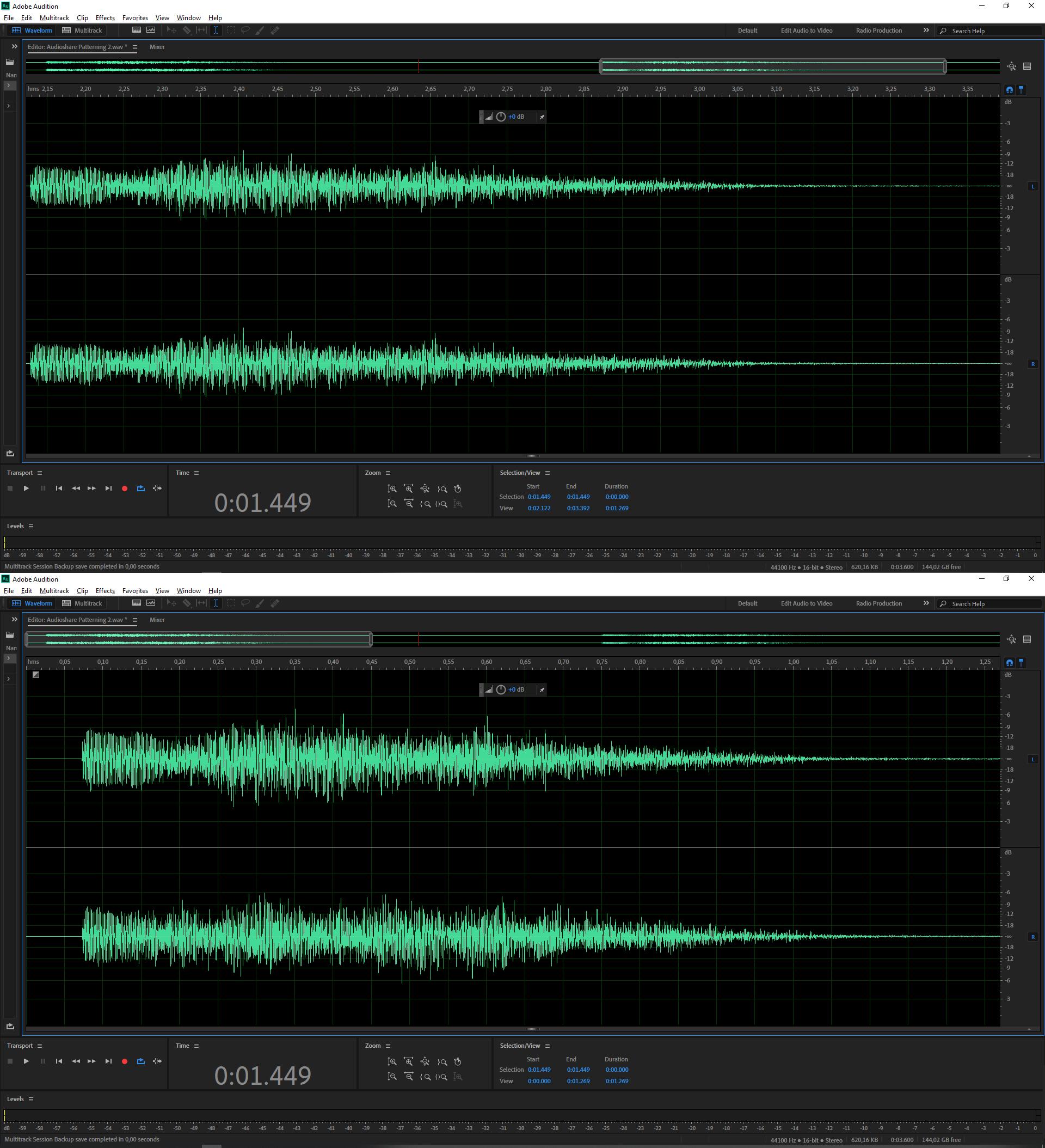 Patterning Audioshare